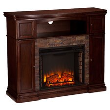Hartman Faux Stone Electric Fireplace