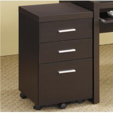 Bicknell 3-Drawer Mobile File Cabinet