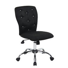 Tiffany Adjustable Mid-Back Office Chair in Tufted Back