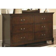 Tiffany 6 Drawer Dresser