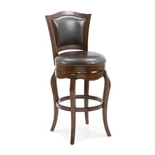 "Lincoln 29"" Swivel Bar Stool with Cushion"