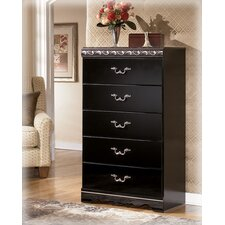 Park Chest in Deep Glossy Black