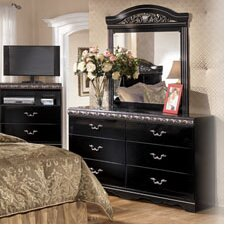Park Dresser in Deep Glossy Black