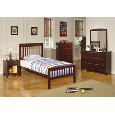 Perry Twin Slat Customizable Bedroom Set