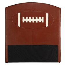 All Star Football Twin Upholstered Kids Headboard