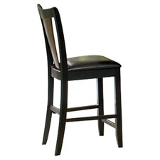 "Beals 24"" Bar Stool with Cushion (Set of 2)"