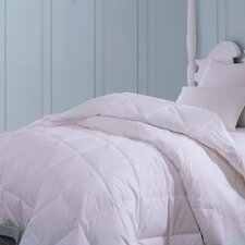 Majestic Firm Cotton Down Pillow in White