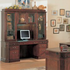 Youngtown Executive Desk with Hutch