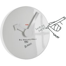 """Martí Guixé 15.75"""" Blank Wall Clock"""