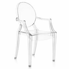 Louis Ghost Arm Chair (Set of 4)