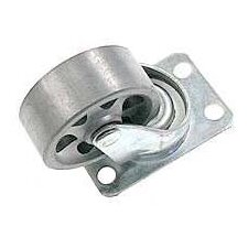 Semi Steel Wheel Swivel Plate Caster