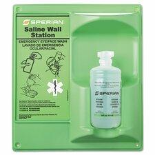 Saline Eye Wash Wall Station