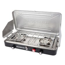 2-Burner Propane Outdoor Stove