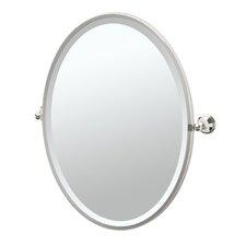 Laurel Ave Framed Oval Mirror