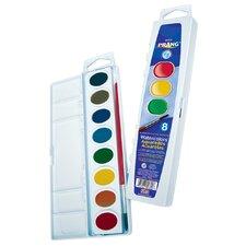 16 Color Washable Watercolors Set