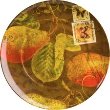 """Accents Nature 8"""" Pears Plate (Set of 4)"""
