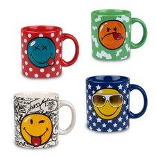 Fun Factory Smiley Mug (Set of 4)