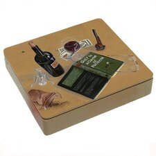 Good Book Good Wine Decorative Storage Box