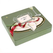 Table 4 Two Lilly Decorative Storage Box  in Green