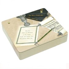 Mitzvah Decorative Storage Box