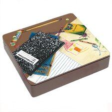 School Days Decorative Storage Box