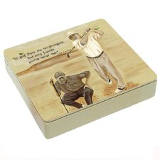 A Swing and Putt Decorative Storage Box
