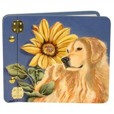 Animals Retriever Mini Book Photo Album