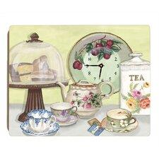 English Tea Wall Clock