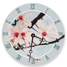 "10"" Magnolias Wall Clock"