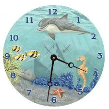 "10"" Under the Sea Wall Clock"
