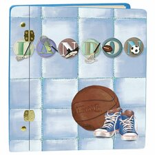 Sports Letters Book Album