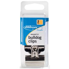 2 Count Magnetic Bulldog Clip (Set of 6)