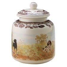 Woodland Dog Treat Jar