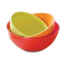 3 Piece Prep and Serve Mixing Bowl Set