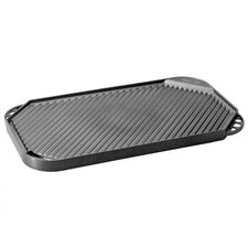 "Pro Cast Traditions 19"" x 11"" Non-Stick Reversible Grill Pan and Griddle"