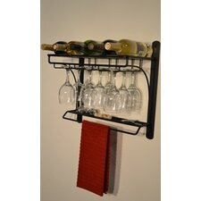 5 Bottle Wall Mount Wine rack