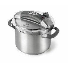 Stainless Steel 6-Quart Pressure Cooker