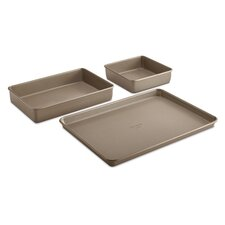 Simply Nonstick 3 Piece Bakeware Set