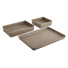 Simply Nonstick 3 Piece Bakeware Set