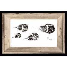 'Horse Shoe Crab' by JFD Framed Painting Print