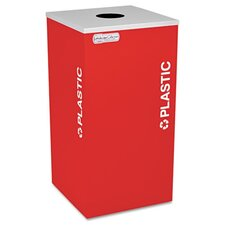 Kaleidoscope XL Series 24-Gal Industrial Recycling Bin
