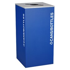 Kaleidoscope XL Series 36-Gal Indoor Industrial Recycling Bin