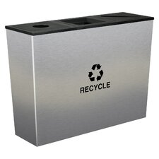 Metro 54-Gal Multi Compartment Recycling Bin