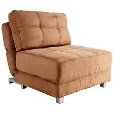 Carver Microfiber Convertible Chair