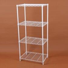 """Wire 46.46"""" Four Shelf Shelving Unit"""