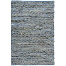 Earth First Blue Jeans Handcrafted Area Rug