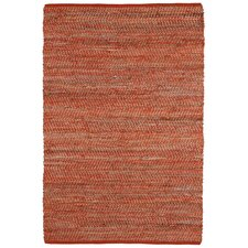 Earth First Orange Area Rug