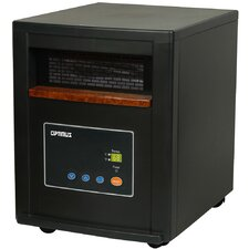 Zone Heating System 1,500 Watt Portable Electric Infrared Cabinet Heater