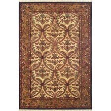American Home Classic Agra Beige/Gold Area Rug