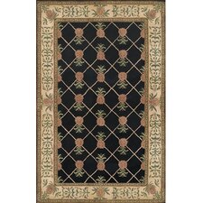 Cape May Black / Ivory Area Rug